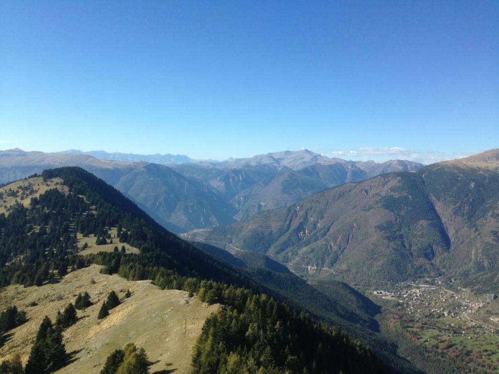 L'ultime récompense de la randonnée : un panorama magnifique…