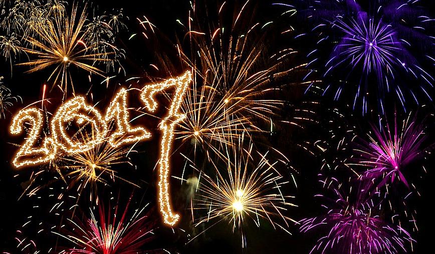 Fêter l'année 2017 comme il se doit avec un feu d'artifice !